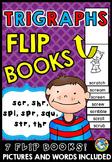 CONSONANT CLUSTERS: PHONICS FLIP BOOKS: TRIGRAPHS BOOKS: P