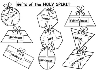 TRINITY SUNDAY/FRUITS OF HOLY SPIRIT Sunday School lesson