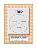 TRIO, A Math Card Game
