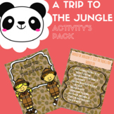 TRIP TO THE JUNGLE- ACTIVITY'S PACK