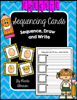 Sequence, Draw, and Write {My Monthly FREEBIE}