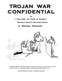 TROJAN WAR CONFIDENTIAL by Michael Fountain : Role Play /