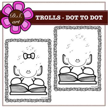 TROLLS - DOT TO DOT