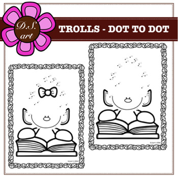TROLLS - DOT TO DOT