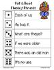 TROLLS Fluency Phrase Roll & Read 6 Levels {PRINT AND PLAY}