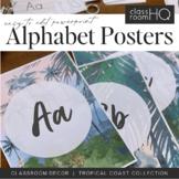 TROPICAL COAST Alphabet Posters