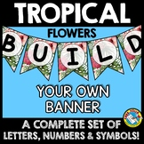 TROPICAL BULLETIN BOARD BANNERS (TROPICAL CLASSROOM DECOR