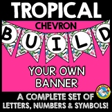 TROPICAL CLASSROOM DECOR (TROPICAL BANNERS BUILD YOUR OWN)