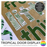 TROPICAL COAST Classroom Door Display Pack