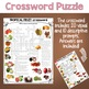 Tropical Fruit Crossword Puzzles Vocabulary Words for ESL and Special Ed