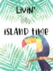 TROPICAL ISLAND MOTIVATIONAL POSTERS