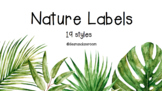 NATURE LABELS