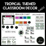 TROPICAL Themed Classroom Decor Bundle