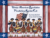 TRS®/CSCOPE® U.S. Unit 3: American Revolution Vocabulary Review Kit
