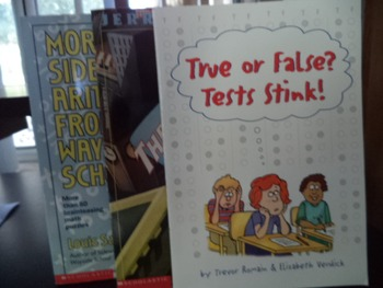 TRUE OR FALSE? THE LIBRARY CARD,WAYSIDE SCH (set of 3)
