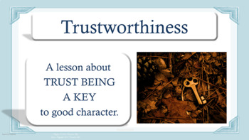 TRUSTWORTHINESS Honesty Trust Character Ed Lesson w 7 vide