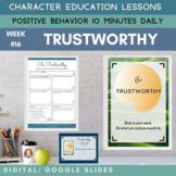 TRUSTWORTHY | Google Apps | Positive Behavior | Daily Char