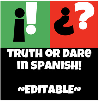 TRUTH or DARE in Spanish!