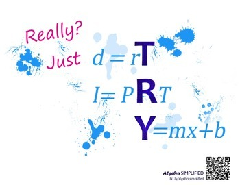 TRY Math Poster - Really Version