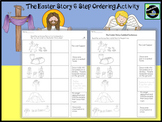 The Easter Story 6 Step Ordering Activity