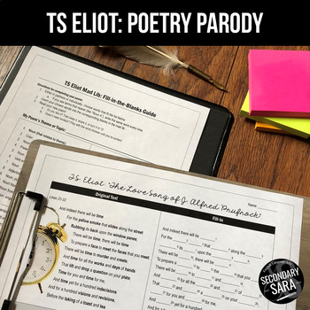 "TS Eliot Poetry Parody: ""The Love Song of J. Alfred Prufrock"""