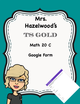 TS GOLD Math Objective 20 C Google Form