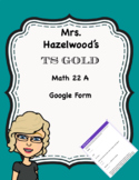 TS GOLD Math Objective 22 A Google Form