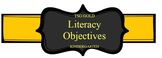 TS Gold Assessment Literacy & Math Objective Cards Bundle