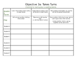TS Gold: Objective 3a, Takes Turns; On the Spot Assessment