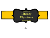 TSG Gold Assessment Literacy Objective Cards