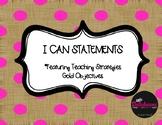 TSG I Can Statements