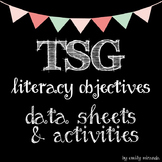 TSG Teaching Strategies Gold Literacy Objective Data and A