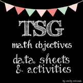 TSG Teaching Strategies Gold - Math Objectives Data Sheets and Activities Pack