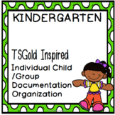 TSGold Inspired Kindergarten Individualized and Group Docu