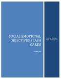 TSGold Kindergarten Flash Cards for Social Emotional Objectives