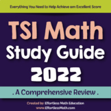 TSI Math Study Guide 2020: A Comprehensive Review