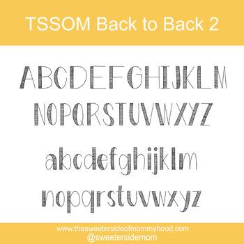 TSSOM Back to Back 2