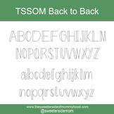 TSSOM Font Back to Back