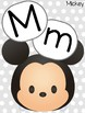 TSUM TSUM Disney Themed Alphabet Posters - English and Spanish