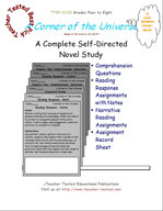 A Corner of the Universe Novel Study Guide