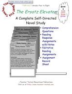 A Series of Unfortunate Events: The Ersatz Elevator Novel Study Guide