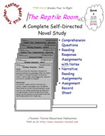 A Series of Unfortunate Events: The Reptile Room Novel Study Guide