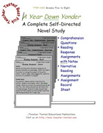 A Year Down Yonder Novel Study Guide
