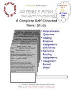 Artemis Fowl: The Arctic Incident Novel Study Guide