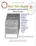 Bud, Not Buddy Novel Study Guide