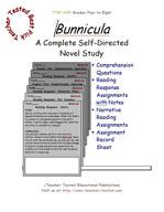 Bunnicula Novel Study Guide