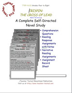 Crispin: The Cross of Lead Novel Study Guide