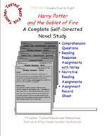 Harry Potter and the Goblet of Fire Novel Study Guide