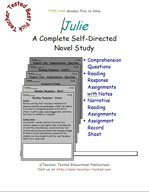 Julie Novel Study Guide