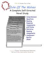 Julie Of The Wolves Novel Study Guide
